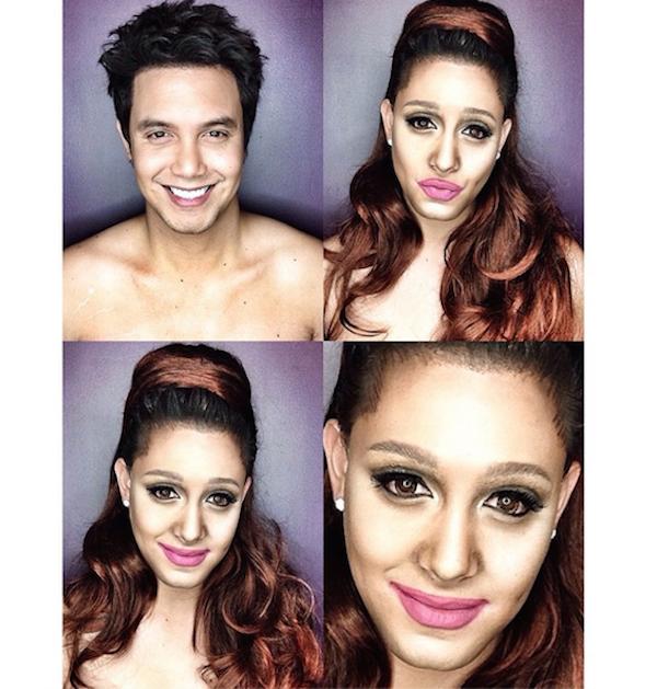 Celebrity Makeup Transformations 6