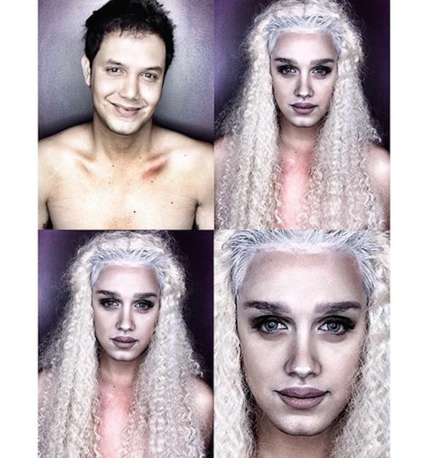 Celebrity Makeup Transformations 9