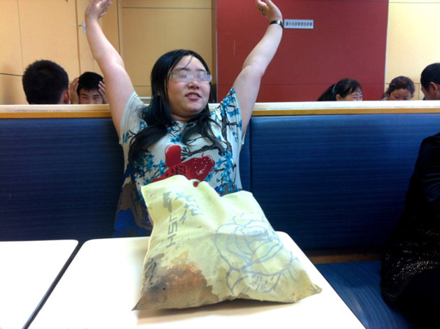 Chinese Woman One Week KFC 1