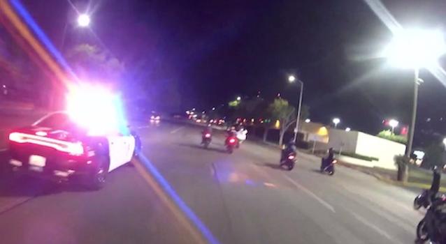 Cops Taunted Motorcycle Gang