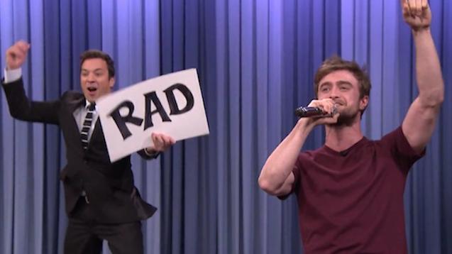Daniel Radcliffe Alphabet Rap