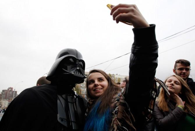 Darth Vader Ukraine selfie