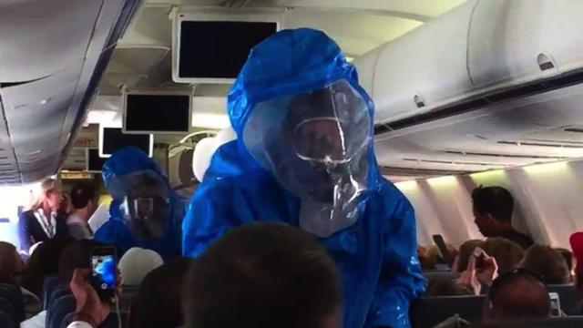 Ebola Plane Hoax