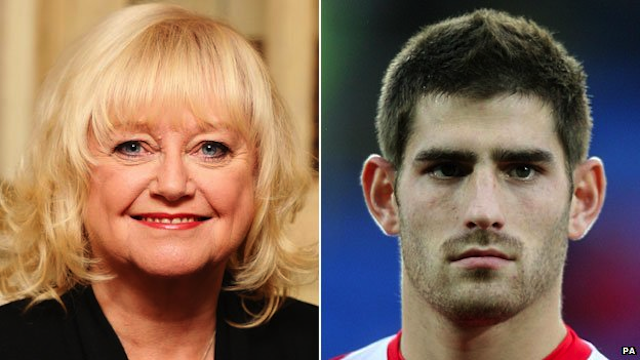 Judy Finnigan ched Evans