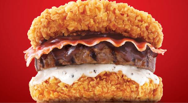 KFC Double Down King