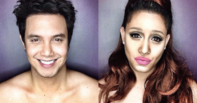 Makeup Transformation Into Celebrities Featured