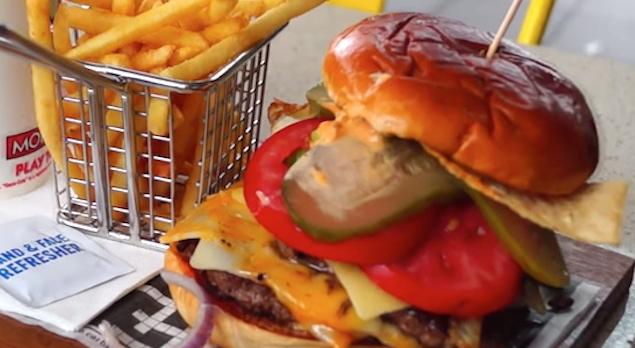 McDonalds Gourmet Burger