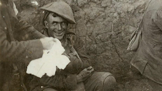 Shellshocked WW1 Soldier