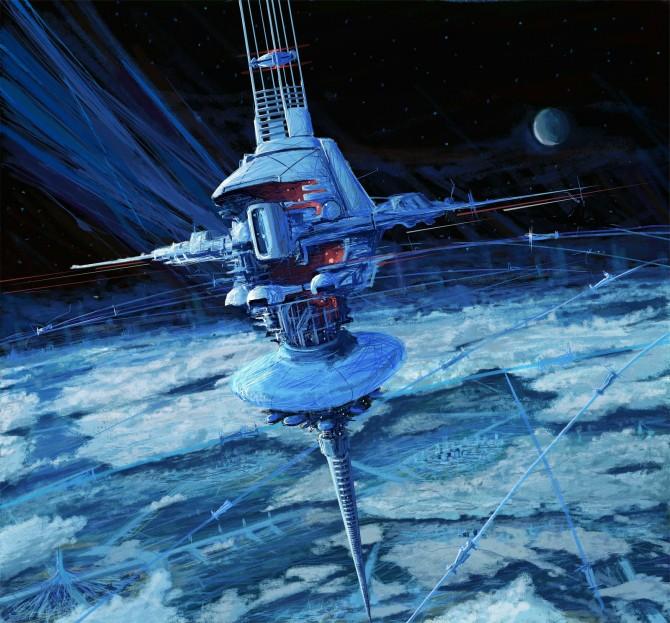 Space Elevator - design future