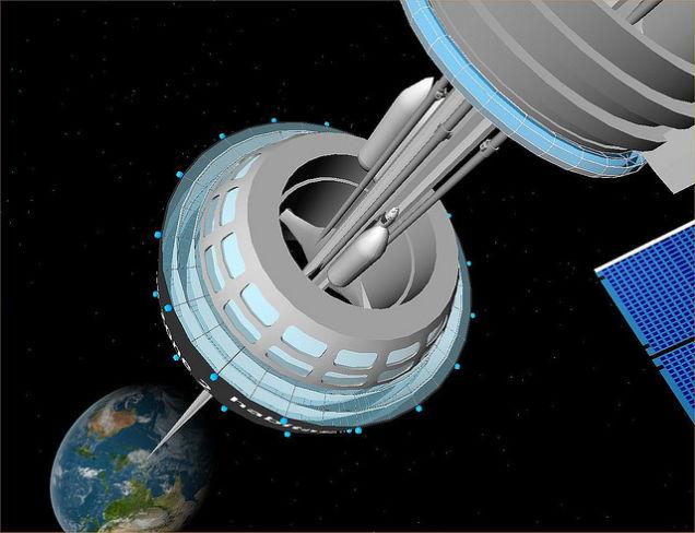 Space Elevator - design