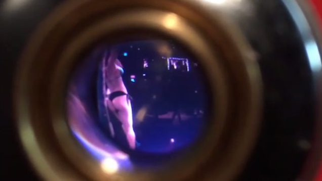 Strip Club Peep Hole