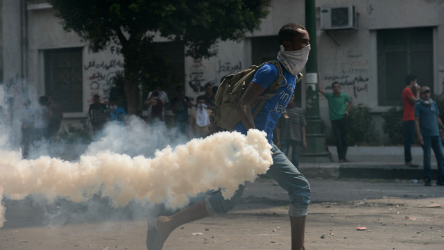 Tear Gas Canister