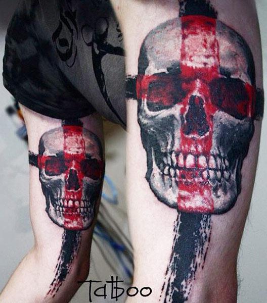 Valentina Ryabova - Skull and Cross