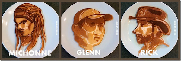 Walking Dead Pancakes 1