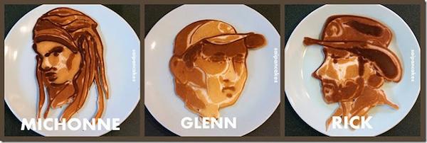 Walking Dead Pancakes 1