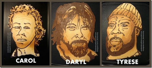 Walking Dead Pancakes 2