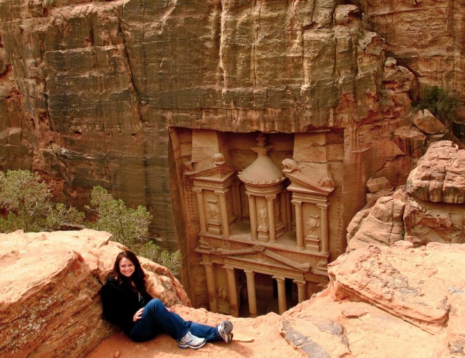 Awesome Look Out Spots - Petra
