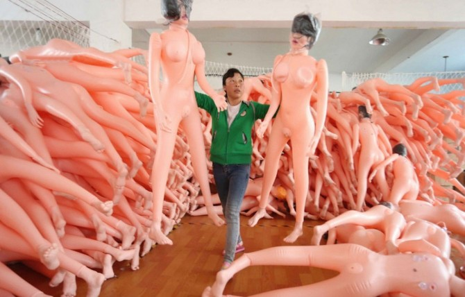 Chinese Blow Up Doll Factory - what a pair