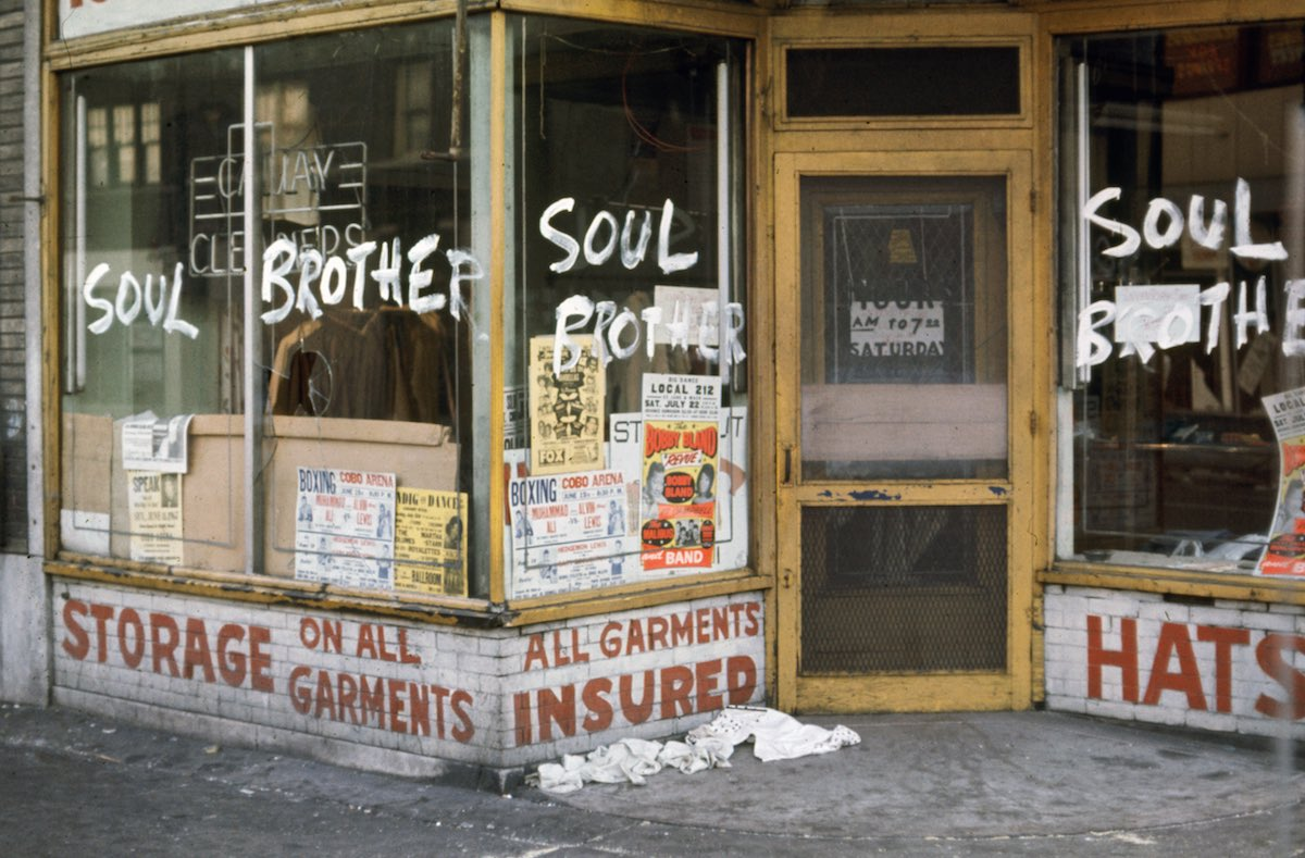 Store During Detroit Riots