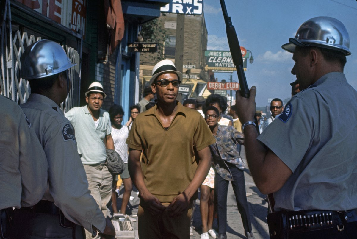 Detroit During The 1967 Riots