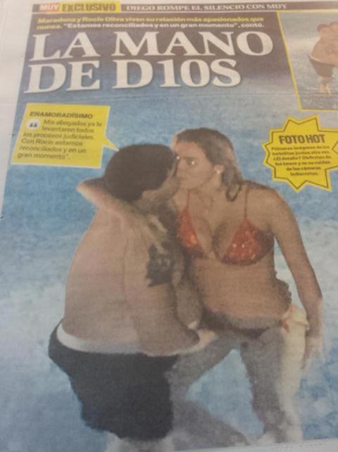 Diego Maradona 24 Year Old Girlfriend 1