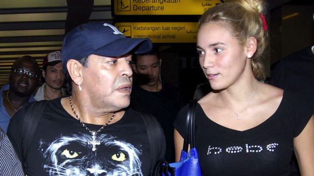 Diego Maradona 24 Year Old Girlfriend