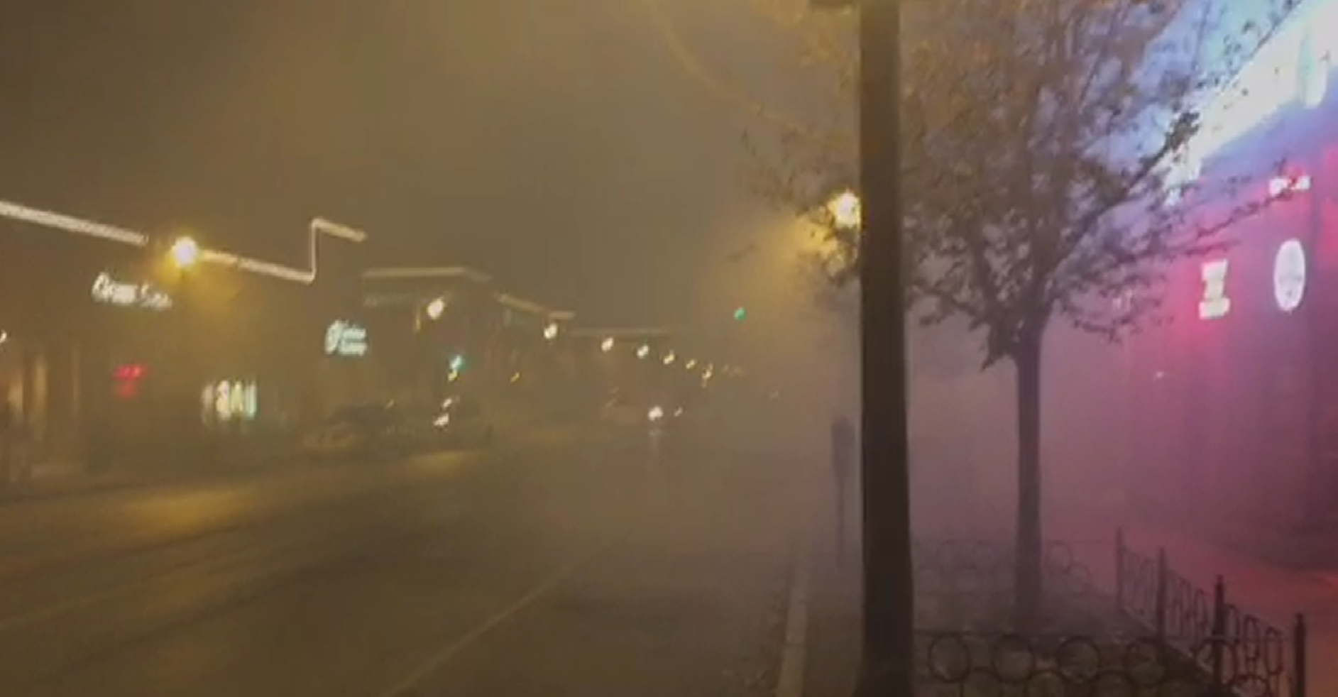 Fog of Tear Gas in STL