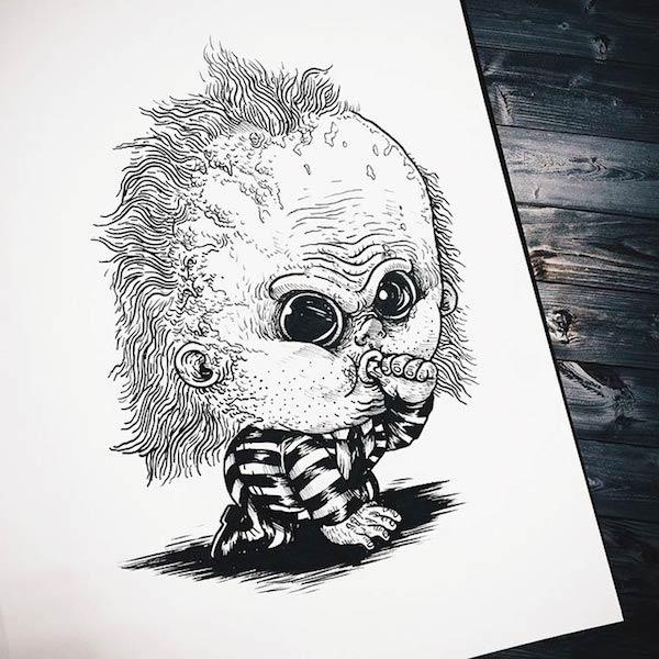 Horror Movie Killers Babies 11