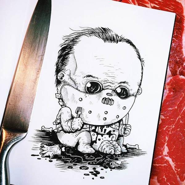 Horror Movie Killers Babies 13