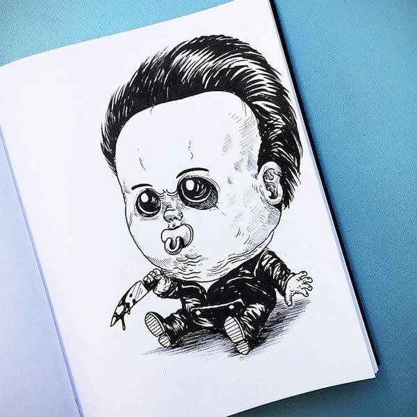 Horror Movie Killers Babies 17