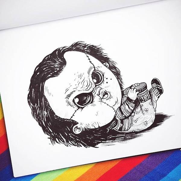Horror Movie Killers Babies 18