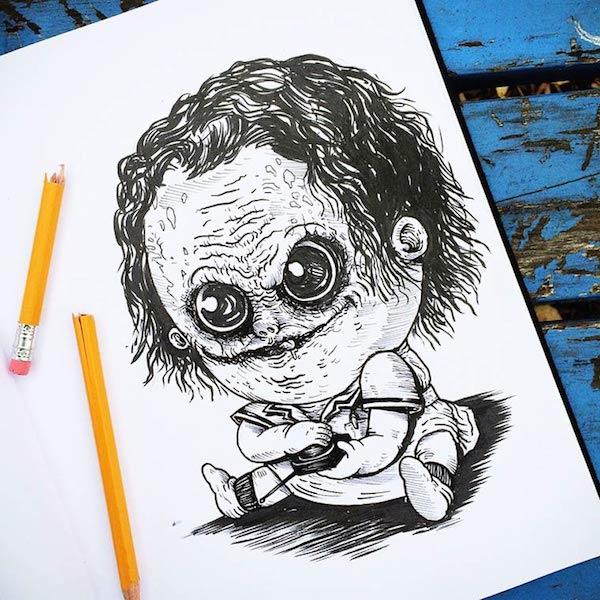 Horror Movie Killers Babies 22