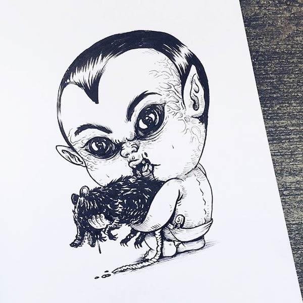 Horror Movie Killers Babies 5