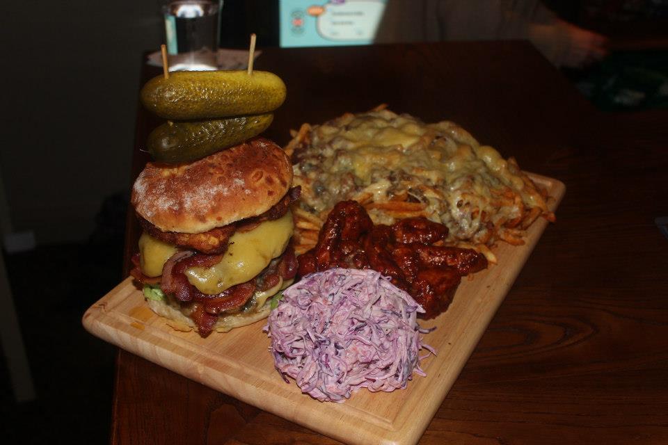 Hobgoblin Kraken Burger.