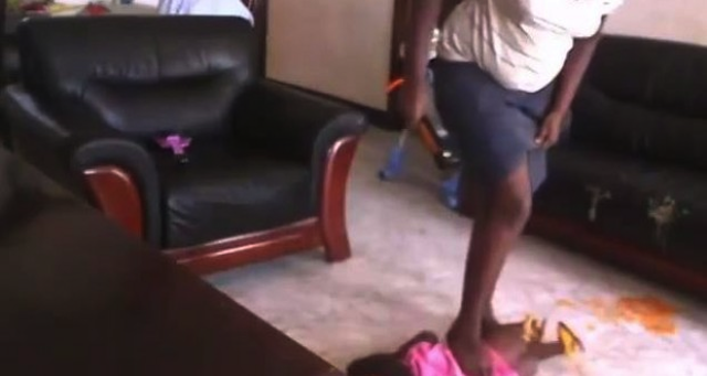 Nanny Beats Up 2 Year Old Toddler