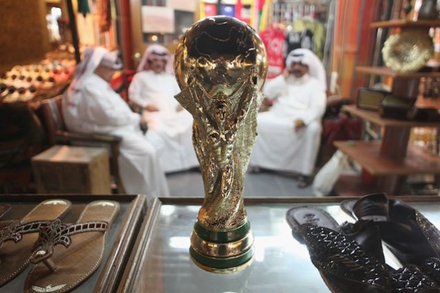 North Korean Slaves Qatar World Cup