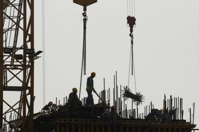 North Korean Slaves Qatar building work