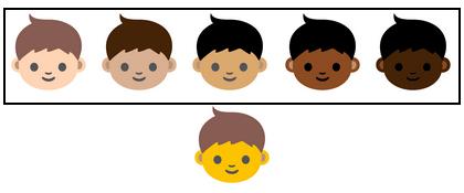 Racially Diverse Emojis