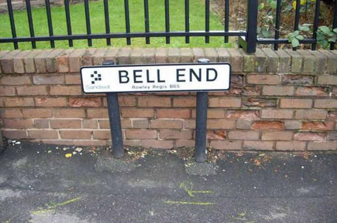 Rude Street Names 9