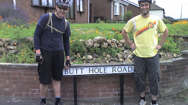 Rudest Street Names Britain