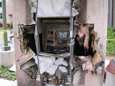 Russian Blow Up Cash Machines propane