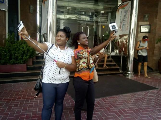 Selfie Stick South Korea fail