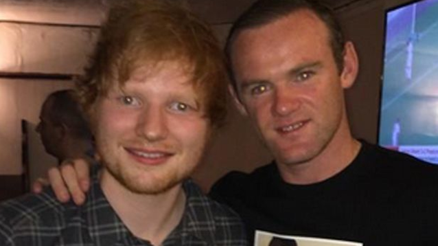 Wayne Rooney Ed Sheeran LEGO House
