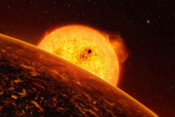 Weirdest Planets - CoRoT-7b