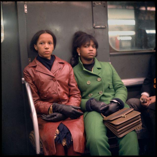 1966 New York Subway Colour Photos 5