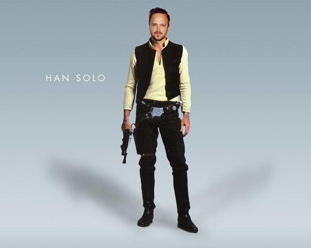 Aaron Paul Han Solo