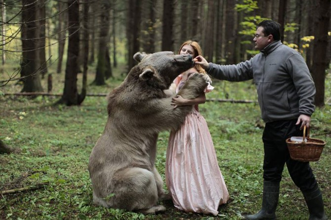 Backstage Katerina Plotnikova - Bear