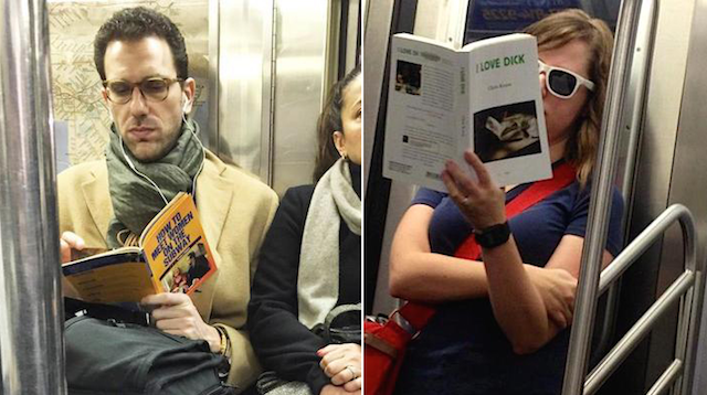 Books You Should Never Read On The Subway Featured