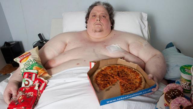 Britains Fattest Man 68