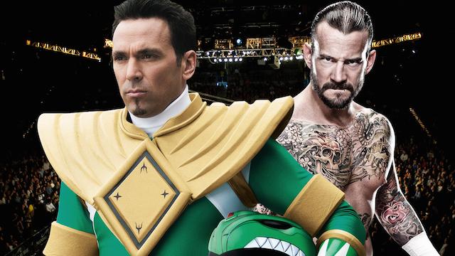 CM Punk Green Ranger